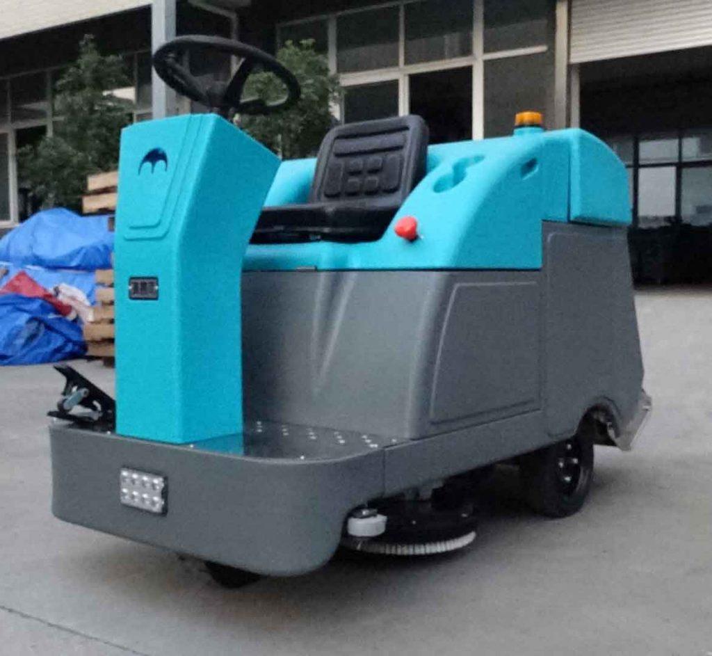 清晨雨拖地车:什么洗地车可以好?能解决物业小区保洁痛点吗?