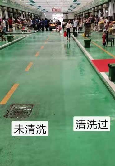 开洗地车做保洁让整体形象提升
