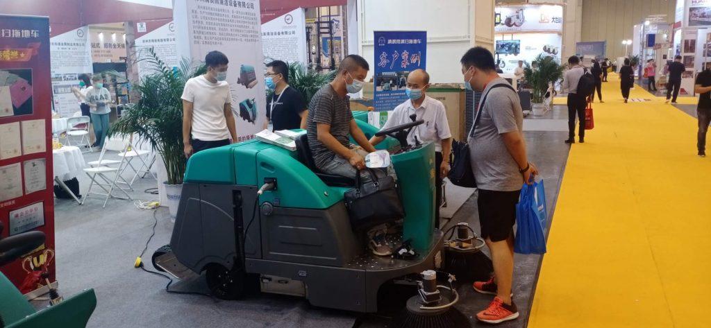 """020郑州物流展清晨雨如期而至"""""""