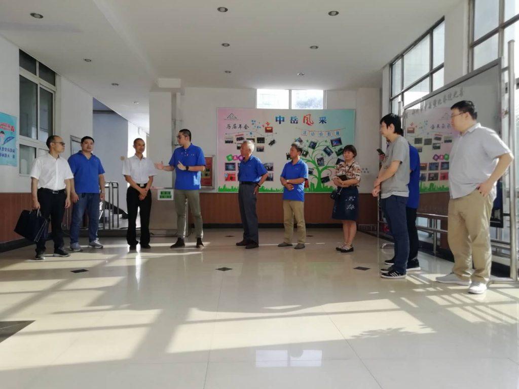 郑州市科技局对清辰雨清洁设备有限公司进行现场考核