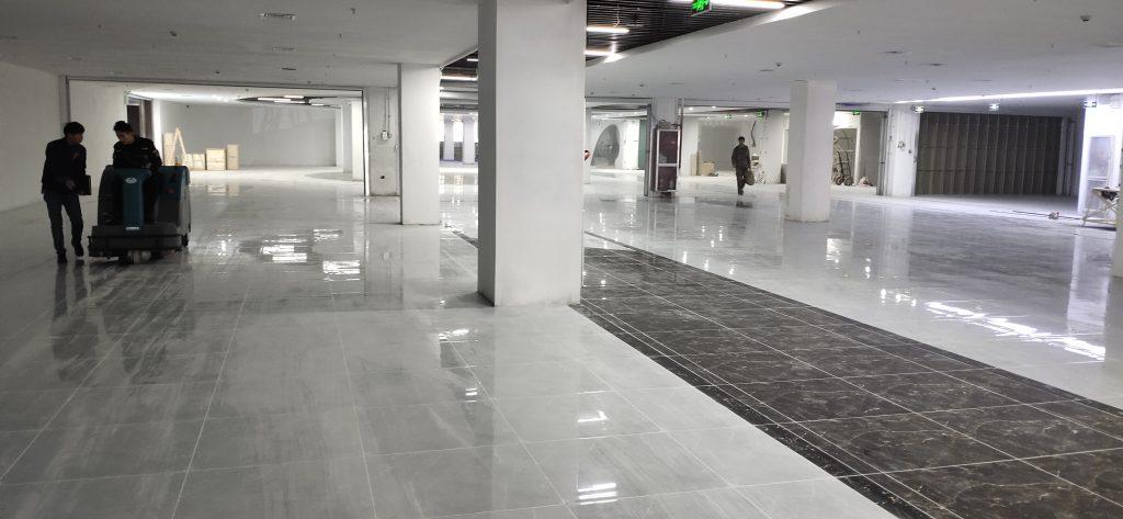 内外兼修丨清晨雨拖地车助力登封市民文化中心焕新颜