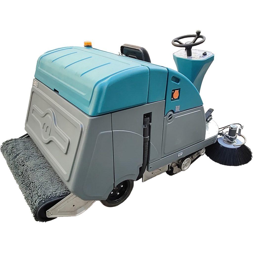 有了清晨雨扫地车,扫地+拖地一遍全搞定,不扬尘无需清洗拖把,真方便!