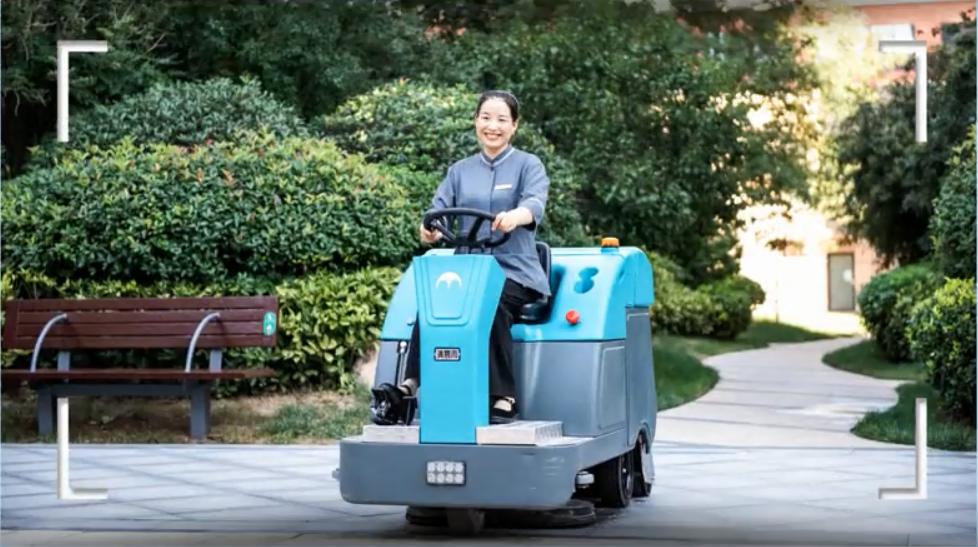 环卫保洁,清洁服务必用清晨雨品牌电动扫地车的6大理由