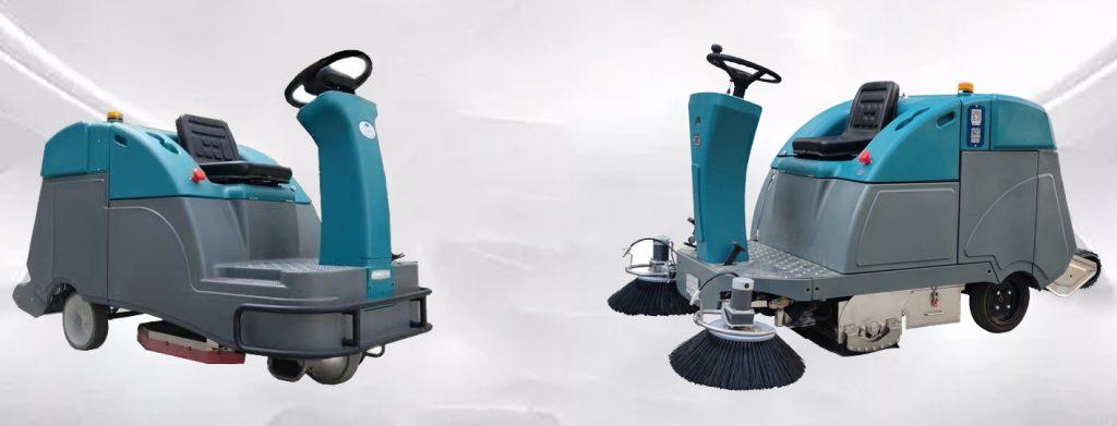 扫地车和洗地车有什么区别,终于有人一次性给说明白了