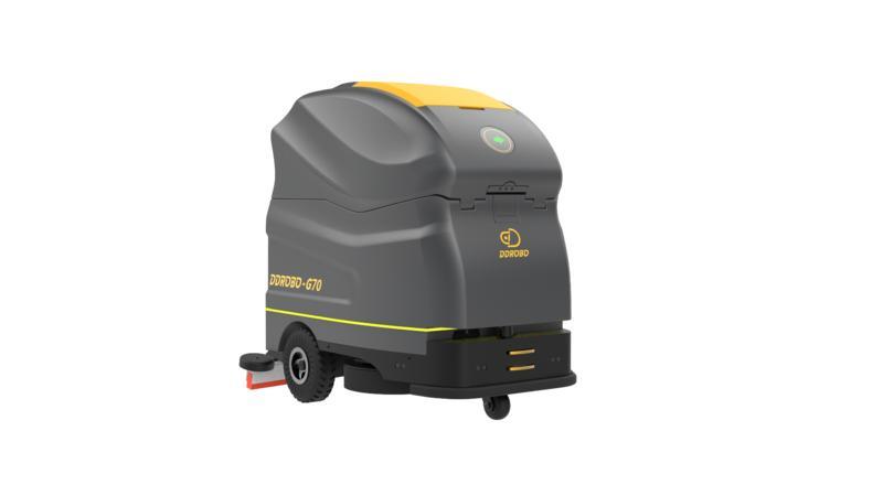清晨雨:驾驶式洗地车和无人智能洗地机哪个更好?