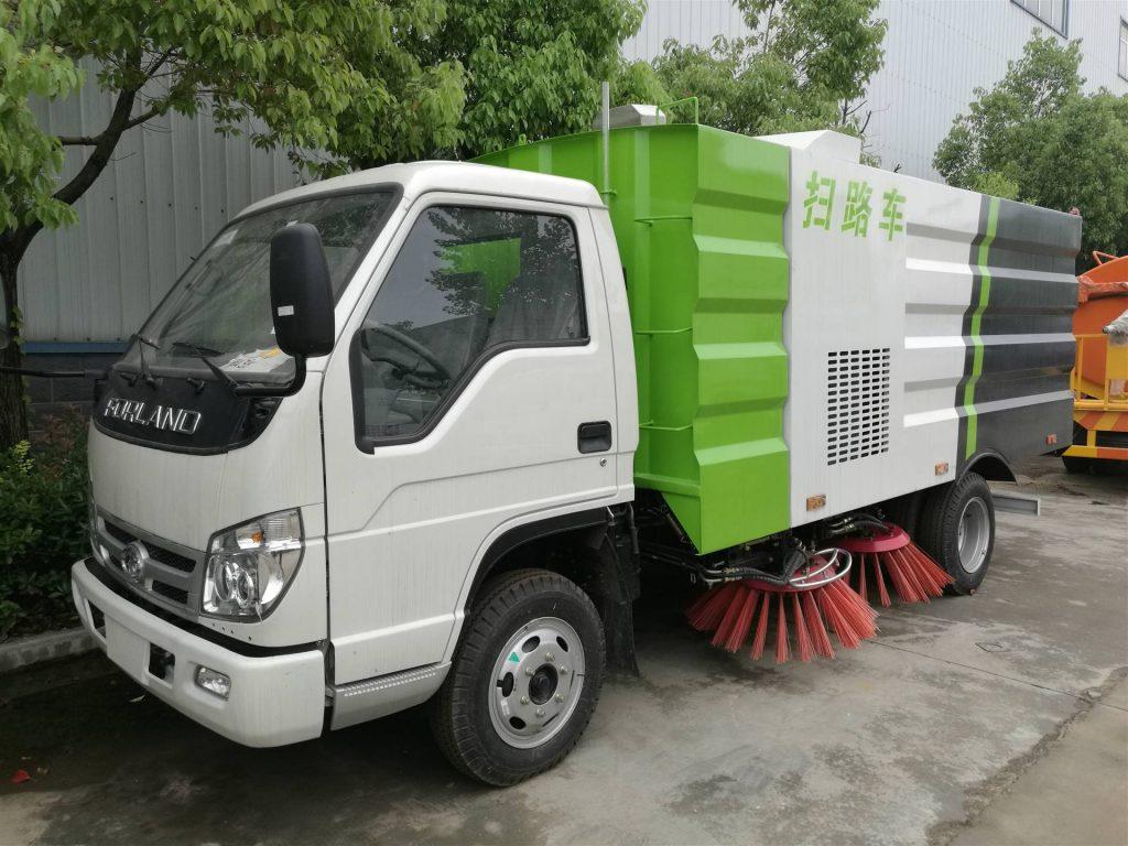 清晨雨拖地车:郑州道路清扫车更新升级正在提速